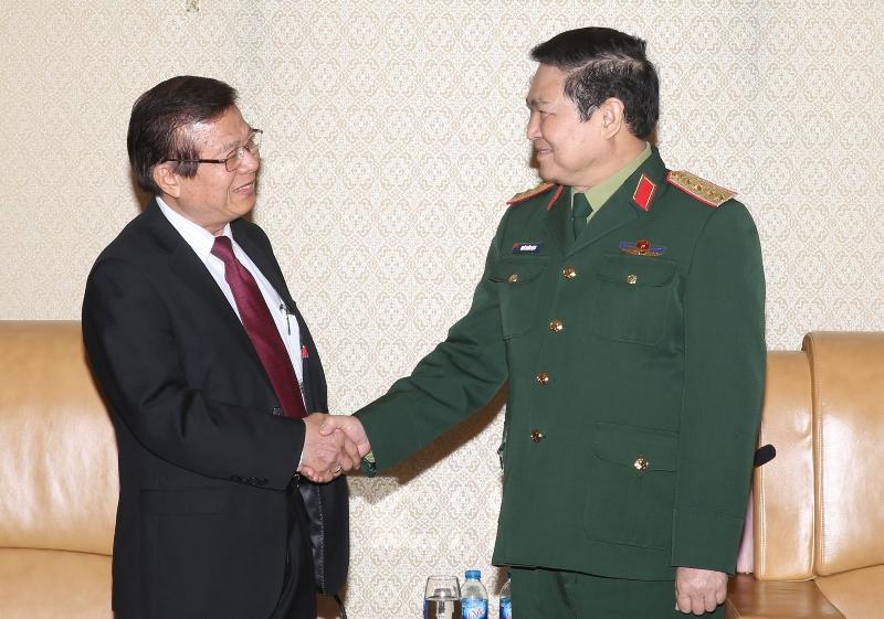 Tiếp tục đẩy mạnh hợp tác giữa ngành Cơ yếu hai nước Việt Nam - Campuchia