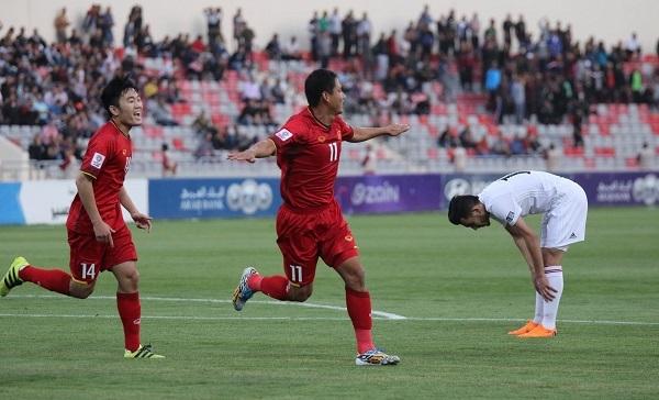 Hòa Jordan, Việt Nam xếp nhì bảng tại vòng loại Asian Cup