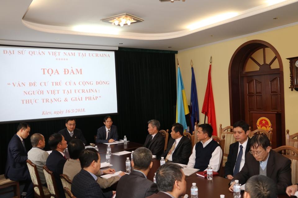 Góp phần hỗ trợ cộng đồng người Việt ổn định cuộc sống tại Ukraine