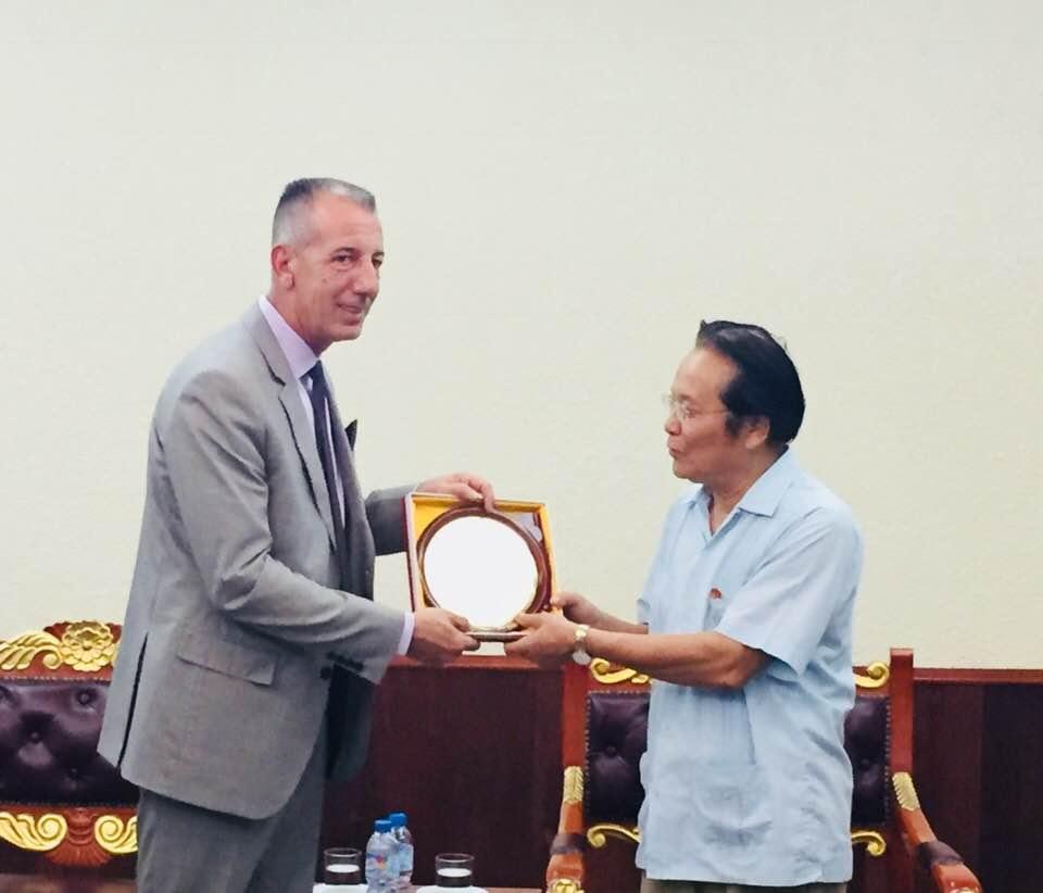 Đoàn đại biểu Tổ chức VFW (Mỹ) thăm và làm việc tại Việt Nam