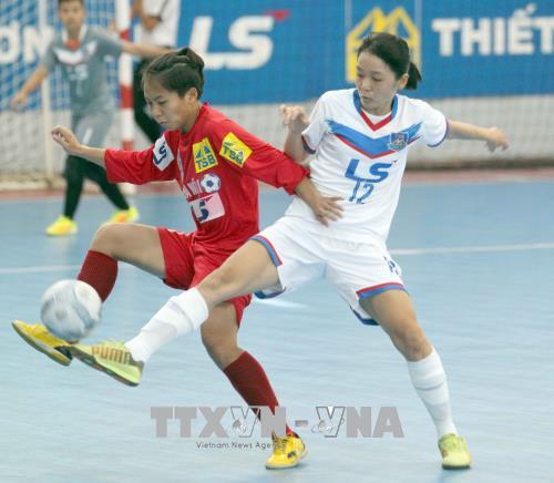 Đội Hà Nội đoạt chức vô địch Giải Futsal nữ TP. Hồ Chí Minh mở rộng