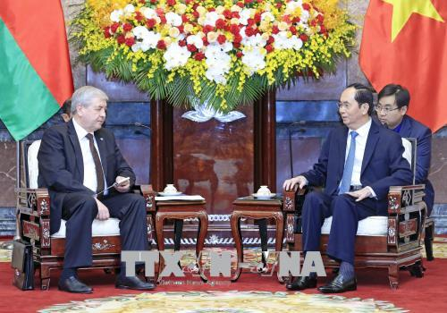 Việt Nam mong muốn tiếp nhận thêm các dòng vốn đầu tư từ Belarus