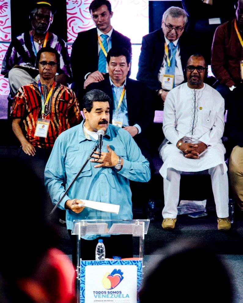 Tuần đoàn kết quốc tế với Venezuela
