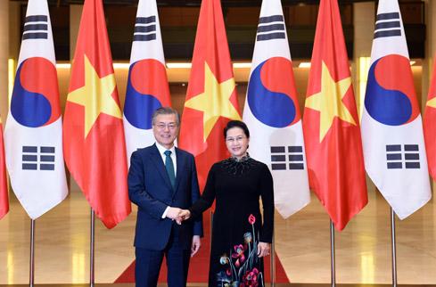 Tăng cường hợp tác giữa các cơ quan của Quốc hội hai nước Việt Nam và Hàn Quốc