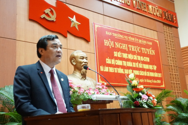 Quảng Nam: Học tập và làm theo Bác là công việc quan trọng, thường xuyên