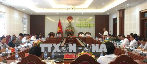 Phó Chủ tịch nước dự hội nghị ký kết giao ước thi đua Cụm thi đua Tây Nguyên