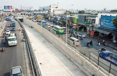 TP.Hồ Chí Minh: Thông xe hầm chui An Sương