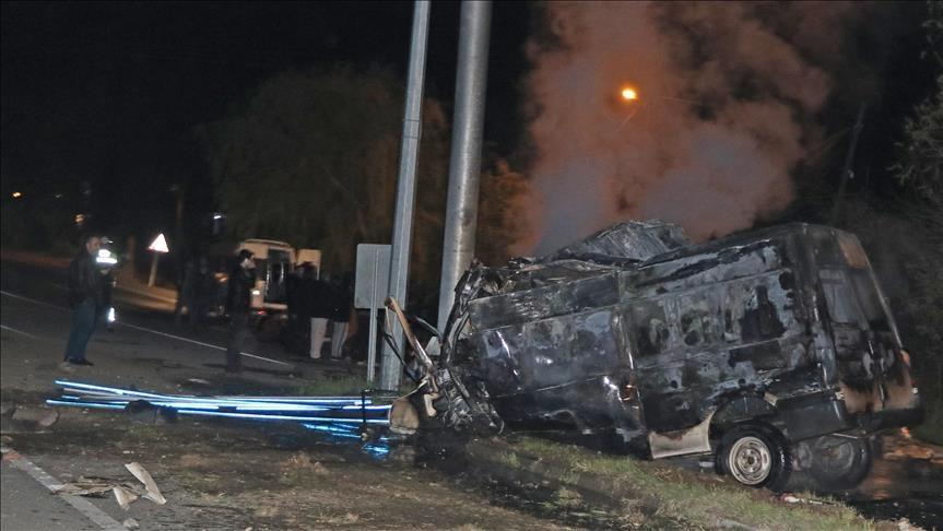Tai nạn nghiêm trọng ở Thổ Nhĩ Kỳ, 17 người thiệt mạng