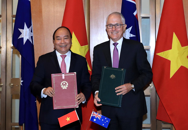 Tuyên bố chung về thiết lập Đối tác Chiến lược Việt Nam - Ô-xtrây-li-a