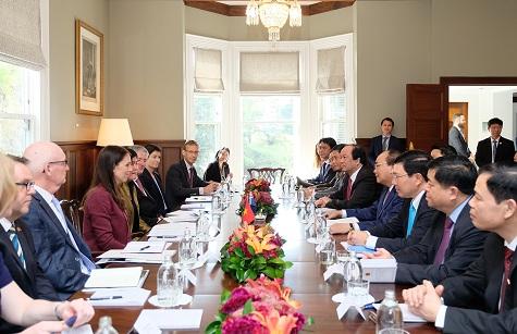 Quan hệ hữu nghị và Đối tác Toàn diện Việt Nam-Niu Di-lân phát triển tốt đẹp