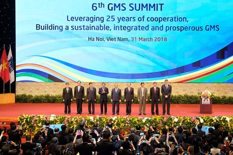 Tuyên bố chung Hội nghị thượng đỉnh Hợp tác Tiểu vùng Mê Công mở rộng lần thứ 6