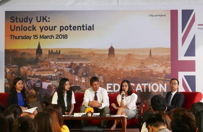 Chia sẻ thông tin về cơ hội học bổng tại Vương quốc Anh