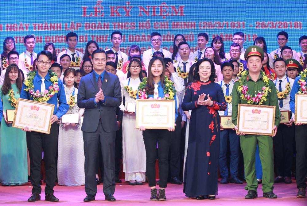 Tuyên dương Bí thư chi đoàn giỏi Thủ đô năm 2018