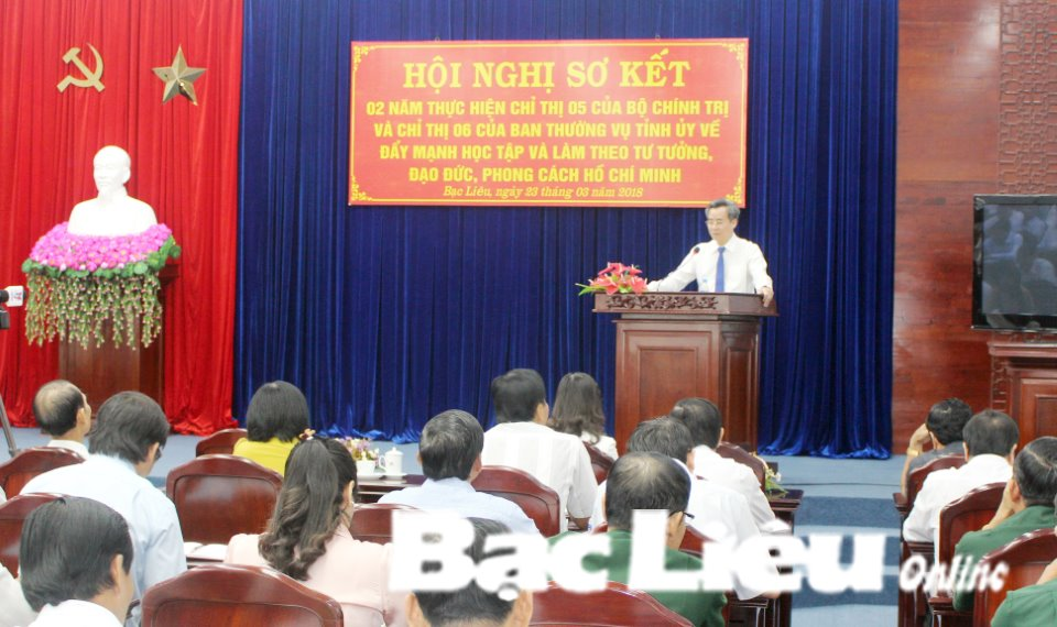Sơ kết 2 năm thực hiện Chỉ thị 05 của Bộ Chính trị về học tập và làm theo tư tưởng, đạo đức, phong cách Hồ Chí Minh