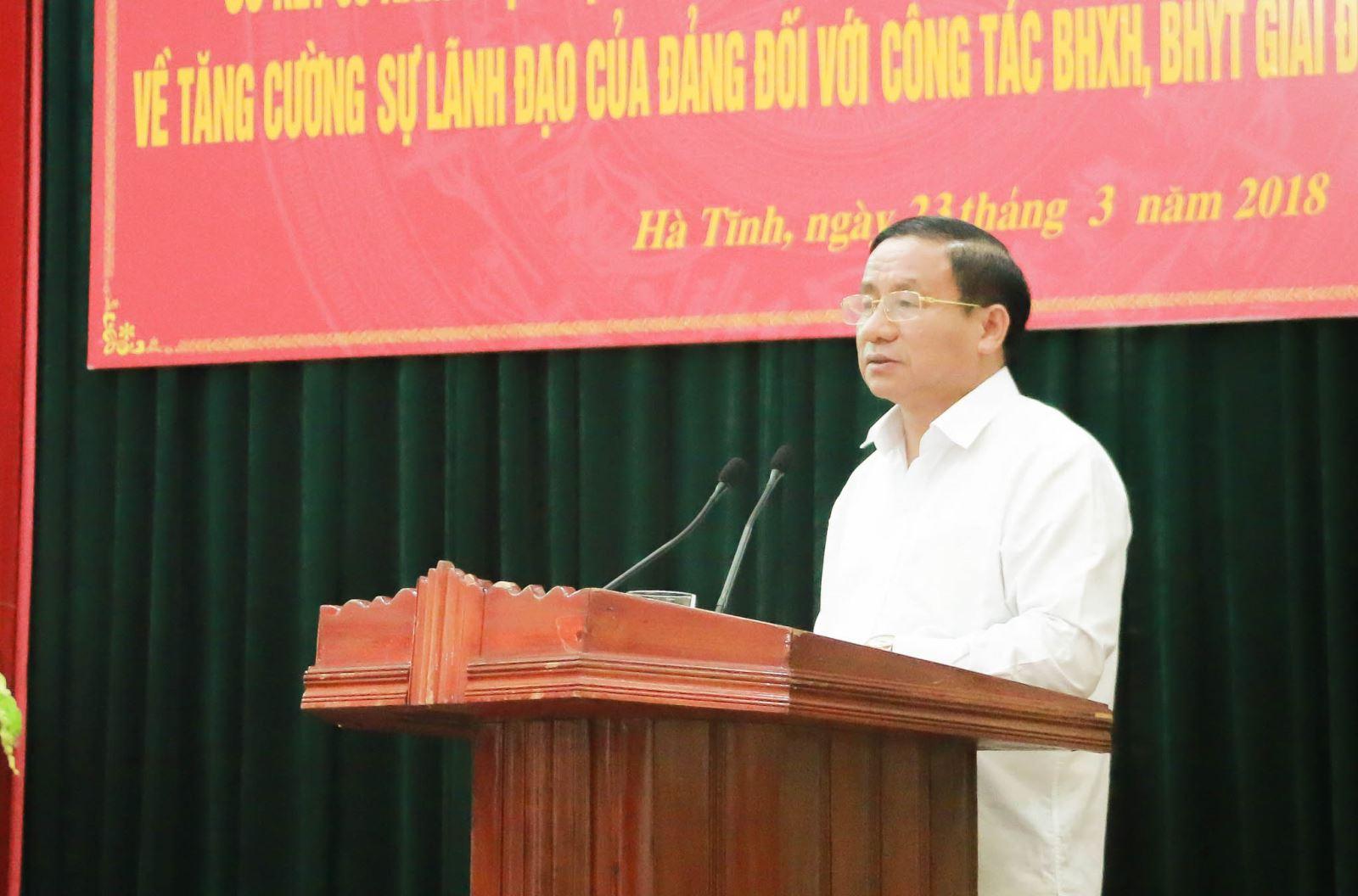 Hà Tĩnh: Sơ kết 5 năm thực hiện Nghị quyết 21 của Bộ Chính trị (khoá XI)