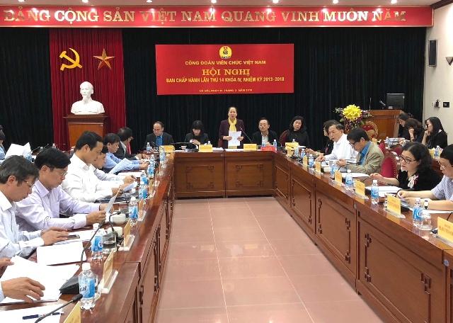 Thực hiện tốt công tác chuẩn bị cho Đại hội V Công đoàn viên chức Việt Nam.