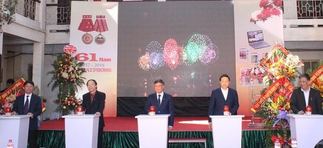 Báo Hải Phòng hòa mạng phiên bản điện tử tiếng Anh, tiếng Trung