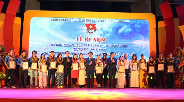 Lễ kỷ niệm 87 năm Ngày thành lập Đoàn TNCS Hồ Chí Minh