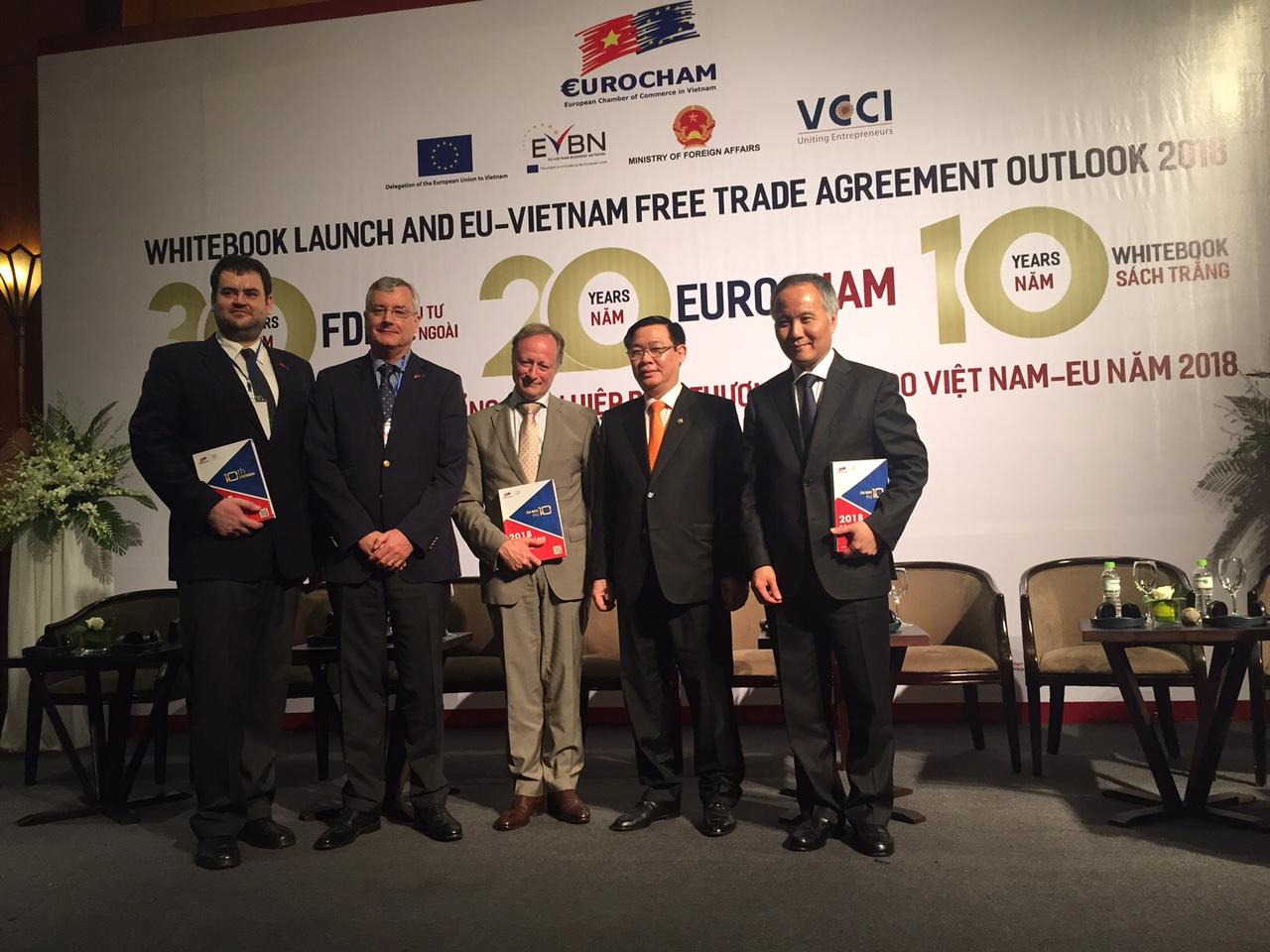 Sách trắng 2018 đưa ra những nhận định khả quan khi hiệp định EVFTA thực thi