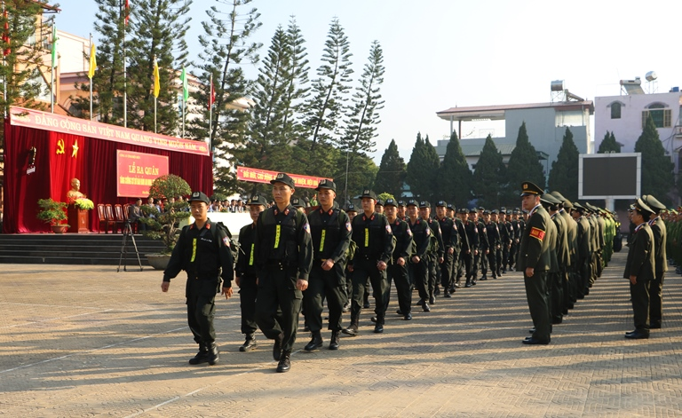 Công an Điện Biên: Gần 1.000 cán bộ, chiến sĩ tăng cường cơ sở