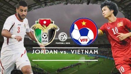 Việt Nam gặp Jordan:  Xem trực tiếp ở đâu?