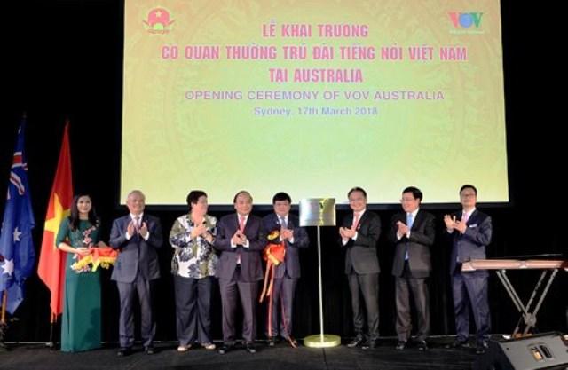 Thủ tướng dự Lễ khai trương cơ quan thường trú Đài TNVN tại Australia