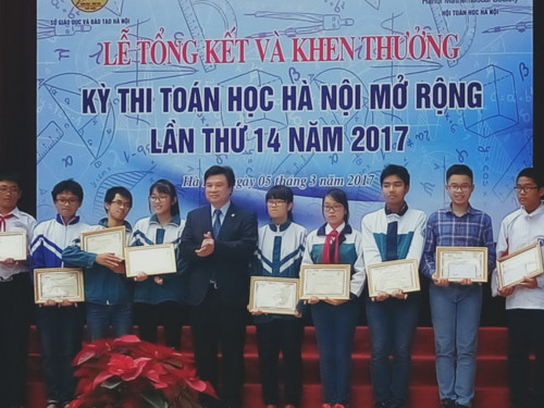 Sắp diễn ra Kỳ thi Toán học Hà Nội mở rộng năm 2018