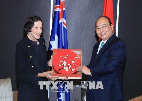 Thủ tướng Nguyễn Xuân Phúc tiếp lãnh đạo Bang New South Wales của Australia