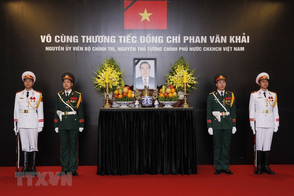 Đại sứ Hoa Kỳ tại Việt Nam gửi lời chia buồn về việc nguyên Thủ tướng Phan Văn Khải qua đời