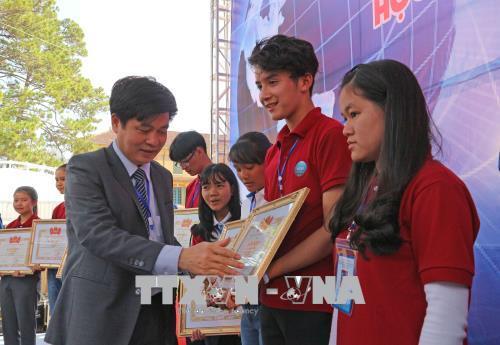 119 dự án đoạt giải Cuộc thi Khoa học kỹ thuật cấp quốc gia học sinh trung học khu vực phía Nam