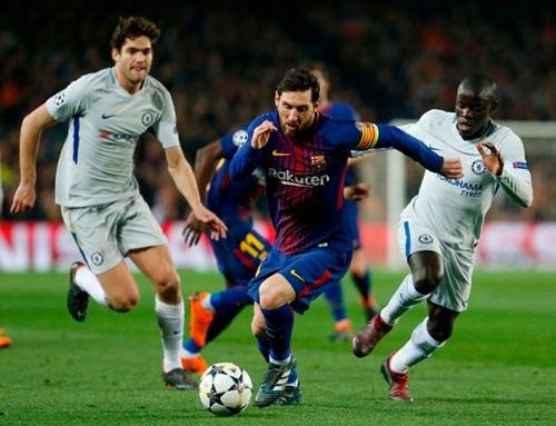 Barcelona 3-0 Chelsea: Thiên tài Messi nhấn chìm Chelsea tại Nou Camp