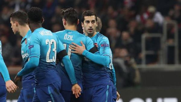 Arsenal giành chiến thắng xứng đáng trước AC Milan