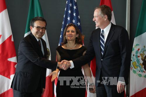 Mexico thông báo thời điểm đàm phán NAFTA tiếp theo