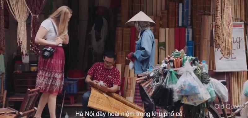 Phát sóng phim quảng bá Hà Nội trên CNN