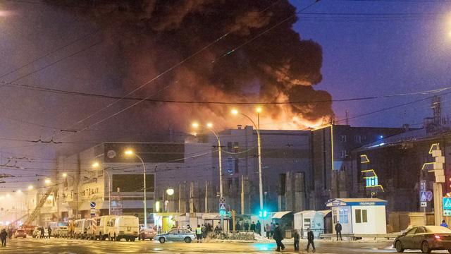 Chưa có thông tin về người Việt Nam là nạn nhân trong vụ cháy tại thành phố Kemerovo (Liên bang Nga)