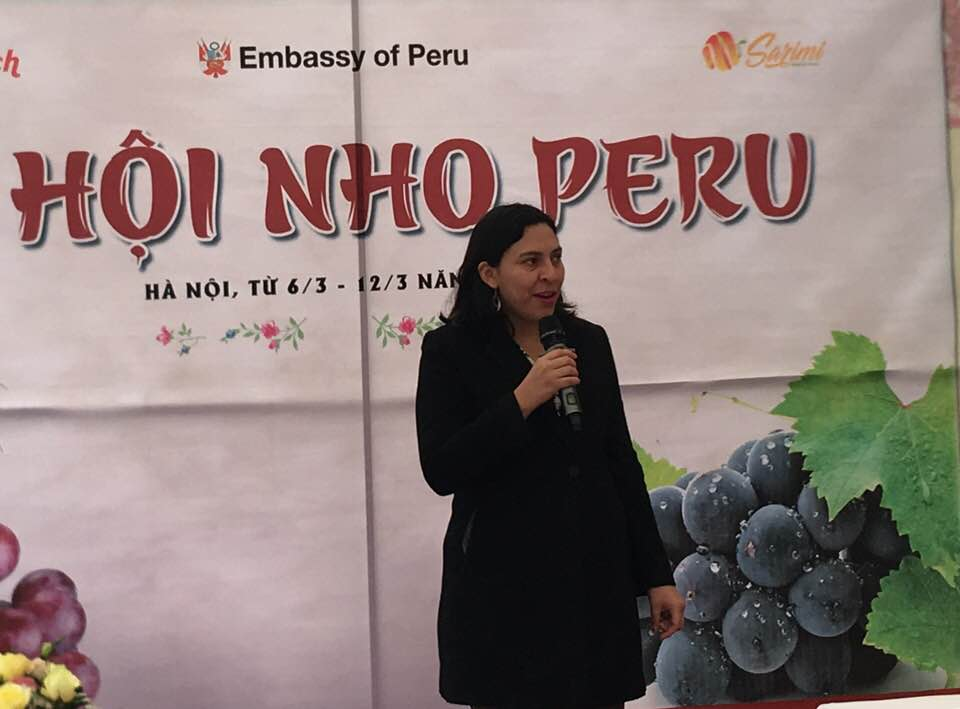 Tuần lễ nho Peru lần đầu tiên được tổ chức tại Việt Nam