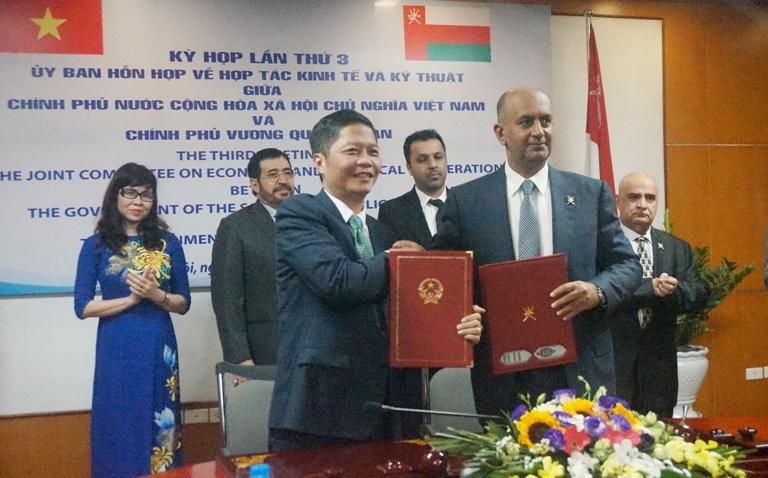 Kỳ họp lần thứ 3 Ủy ban hỗn hợp Hợp tác về Kinh tế và Kỹ thuật giữa Việt Nam và Ô-man