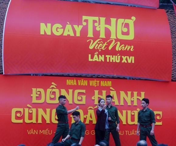 Khai mạc Ngày Thơ Việt Nam lần thứ 16
