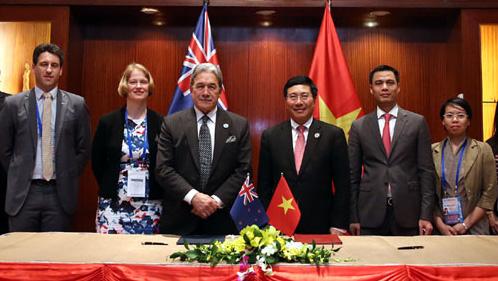 Việt Nam - New Zealand tiếp tục phối hợp trên nhiều vấn đề mang tính chiến lược
