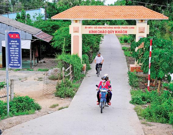 Bạc Liêu: Xây dựng Phước Long thành huyện nông thôn mới kiểu mẫu
