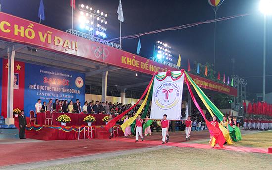 Khai mạc Đại hội thể dục thể thao tỉnh Sơn La lần thứ VIII