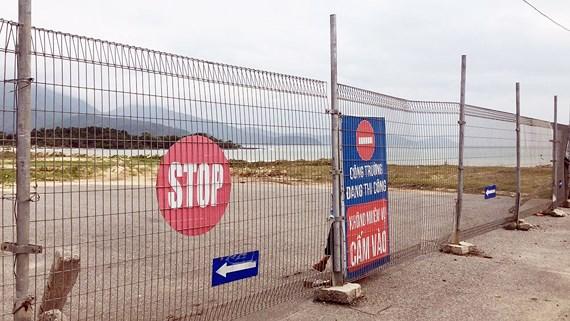 Đà Nẵng: Người dân phản đối khu du lịch dựng hàng rào bít lối xuống biển