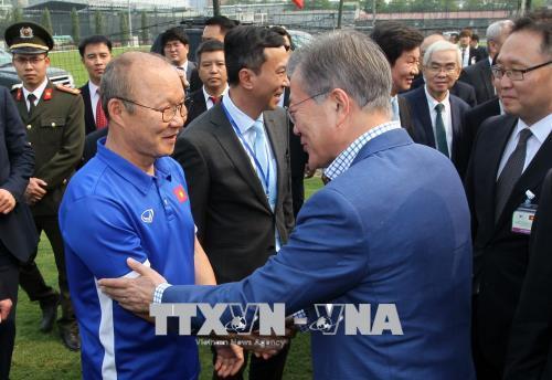 Tổng thống Moon Jae-in: Việt Nam đang dần trở thành một đất nước công nghiệp tiên tiến