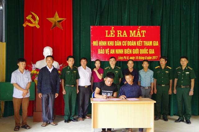 """Lào Cai: Hiệu quả từ mô hình """"Khu dân cư đoàn kết tham gia bảo vệ an ninh biên giới quốc gia"""""""