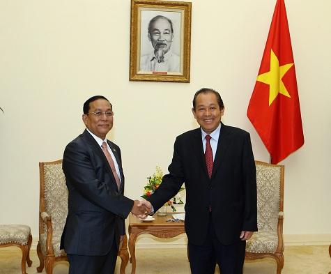 Thúc đẩy quan hệ hợp tác Việt Nam - Myanmar