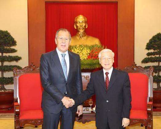 Việt Nam luôn dành ưu tiên cao cho tăng cường quan hệ đối tác chiến lược toàn diện với Liên bang Nga
