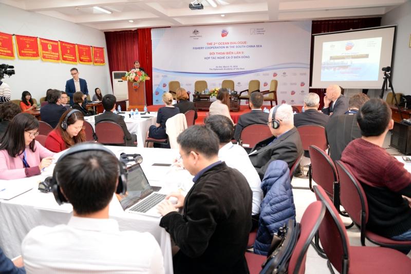 Thúc đẩy hợp tác toàn diện, bền vững nghề cá tại Biển Đông