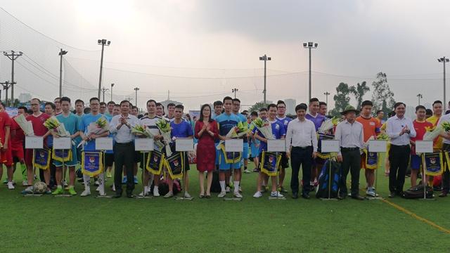 Khai mạc Giải bóng đá tuổi trẻ VNPT truyền thống năm 2018