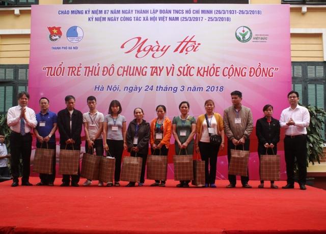 Ngày hội Tuổi trẻ Thủ đô chung tay vì sức khỏe cộng đồng