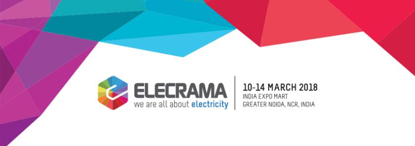Hội chợ điện, thiết bị điện Elecrama 2018 tại Ấn Độ